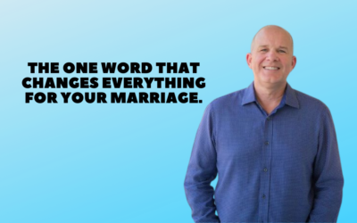 TMCP 72: One Word That Can Change a Marriage [Gary Thomas]